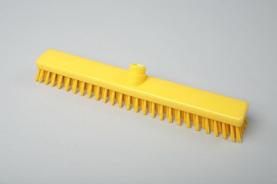 Hygiene - Schrubber, Außengewinde mit Innensechskant   40 cm gelb   Temperaturbeständigkeit: - 20°C bis +134°C