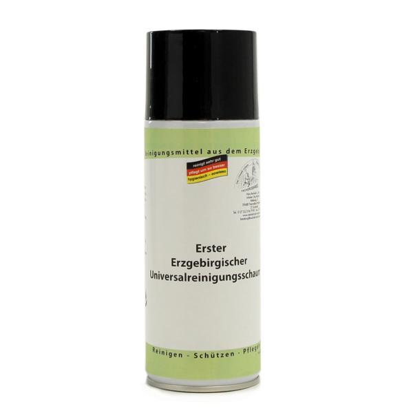 Erster Erzgebirgischer Universalreinigungsschaum | 400 ml Spraydose | optimal geeignet für die Reinigung von Spiegel oder spiegelartigen Flächen