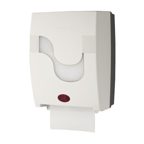 "Rollenhandtuchspender ""Mastermatic"", berührungslose Sensorautomatik | weiß | für Papierhandtücher Artikel 10050"