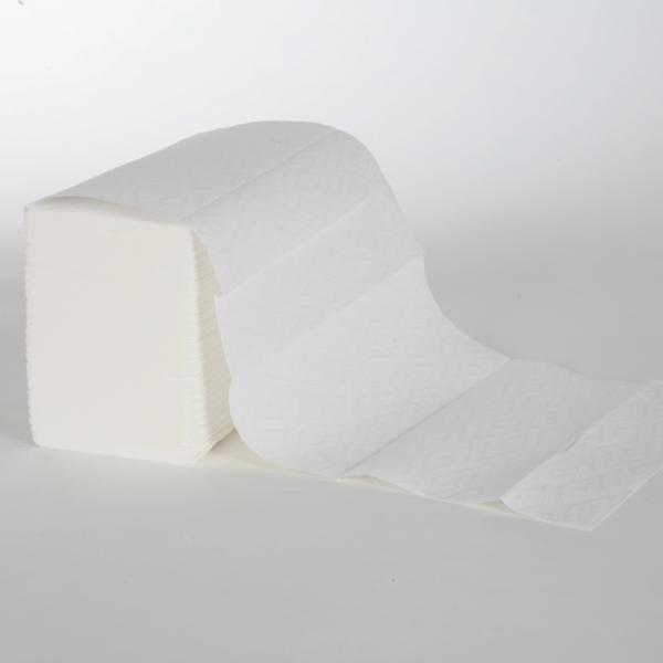 Papierhandtücher 3-lagig | 21,5 cm x 27,0 cm | Interfold | weiß | 2.340 Blatt/Karton