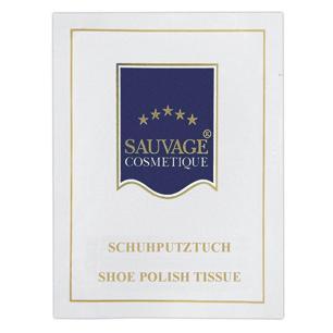 Sauvage Cosmetique Schuhglanztuch im Sachet | 500 Stück