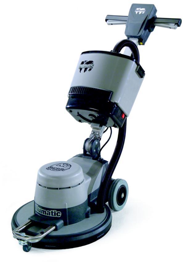 """Einscheibenmaschine """"Numatic NRU1500"""" Ultra-High-Speed-Poliermaschine mit Treibteller, 1500/min"""