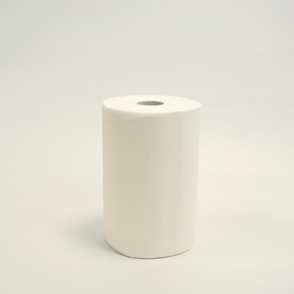 Papierhandtücher Rollenhandtücher Außenabrollung 3-lagig, Zellulose weiß, 65 m   10 Rollen    passend für Spender A70310