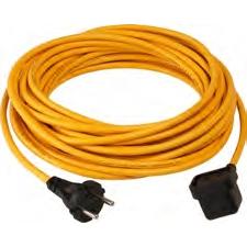 Zubehör/Ersatzteil: Numatic Schnellwechselkabel 3-adrig (NuCable), 10,0 m x 1,50 mm gelb | passend für: WVD1800