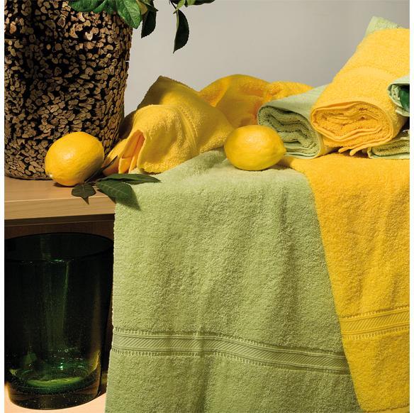 Handtuch Walk, Baumwolle, 50 x 100 cm, mit Glanzbordüre   einfarbig, waschbar 60 °C