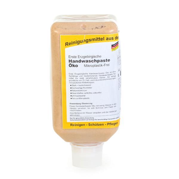 Erste Erzgebirgische Handwaschpaste Öko | Mikroplastik-Frei | Softflasche | 2 Liter