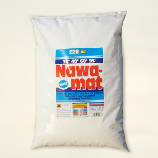 Nawamat forte | 20 kg | phosphathaltiges Vollwaschmittel für höchste Ansprüche, mit verstärktem Fleckentferner, 30°C bis 95°C