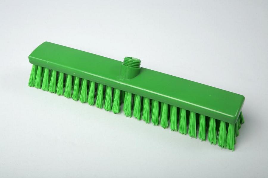 Hygiene - Besen 40 cm grün | Außengewinde mit Innensechskant | Temperaturbeständigkeit: -20°C bis +134°C