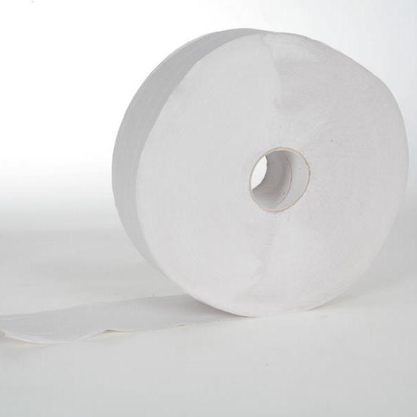 Toilettenpapier Großrolle 2-lagig, weiß, 350 m   6 Rollen/Sack