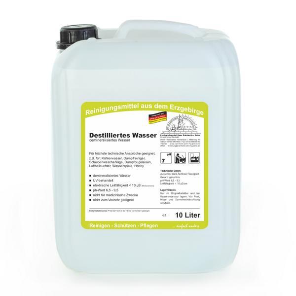 Destilliertes Wasser | 10 Liter
