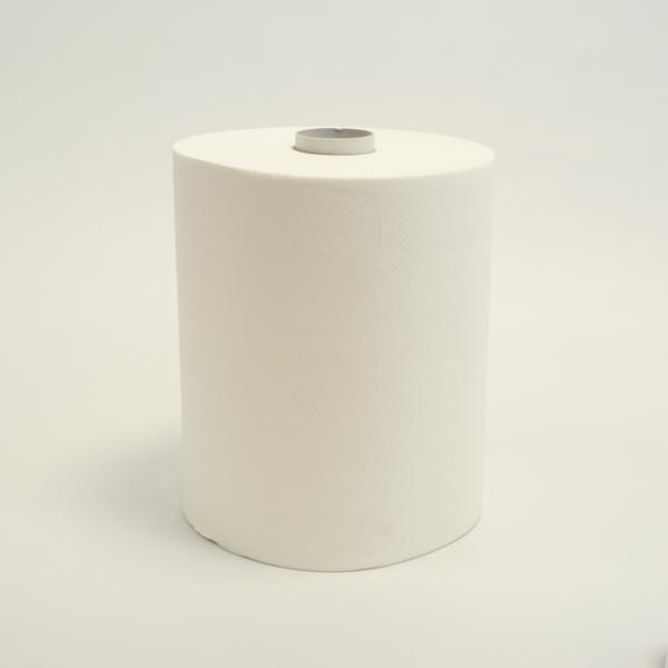 """Papierhandtücher Rollenhandtücher Außenabrollung 2-lagig, weiß, 143 m, """"Lotus enMotion"""", endlos   6 Rollen   passend für Spender 70255 und 70256 (Spender nicht mehr lieferbar)"""