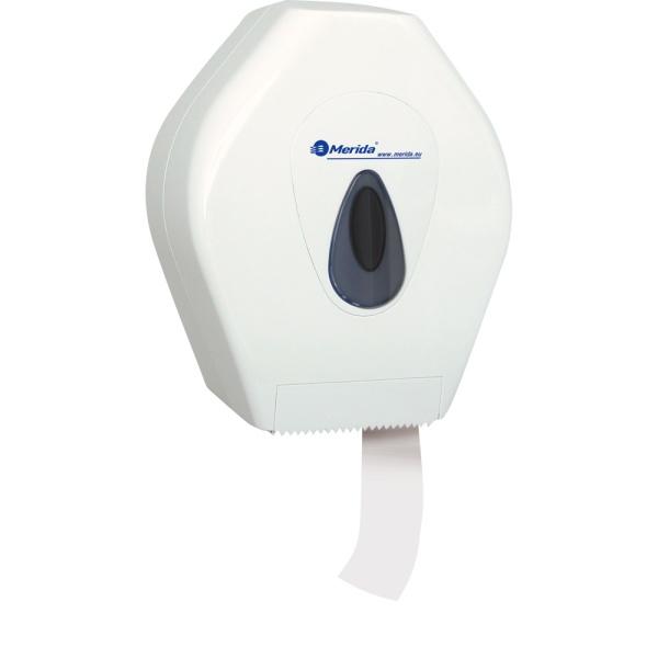 Toilettenpapier-Großrollen-Spender Merida Top Mini weiß/grau   passend zu Art. A10047