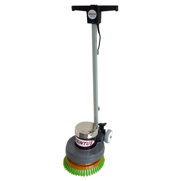 Einscheibenmaschine Sprintus EEM 13 R inklusive Bürste weich+hart und Padtreibteller