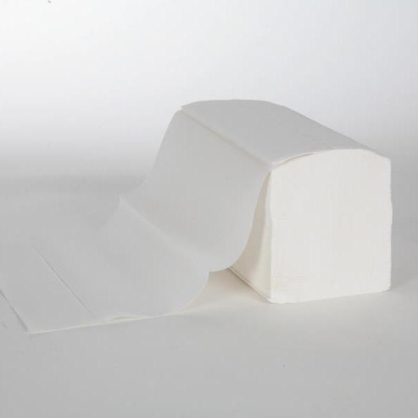 Papierhandtücher 2-lagig, 22,0 cm x 32,0 cm, Interfold, CEL-75 weiß, 20 x 160 Tücher | 3.200 Blatt/Karton