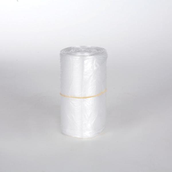 Müllbeutel  33 Liter, HDPE transparent, 540 x 580 mm | 100 Stück/Rolle