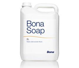 Bona Soap | 5 Liter  | leicht alkalischer Reiniger  für geölte Böden, (alt: Carl´s Cleaner)