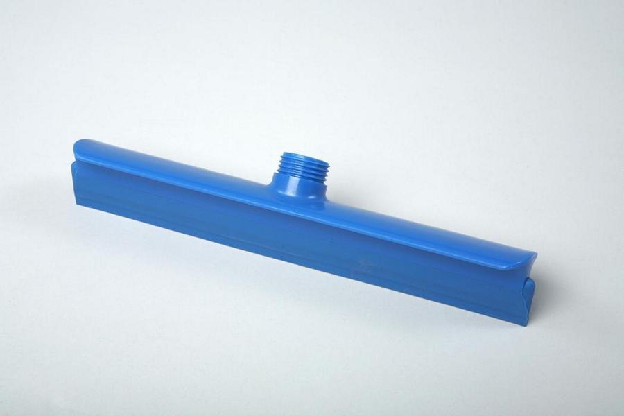 Hygiene - Wasserschieber einteilig 30 cm   Außengewinde mit Innensechskant blau