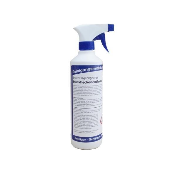 Erster Erzgebirgischer Stockfleckenentferner |  500 ml  | gebrauchsfertig mit Sprüher, entfernt Umweltbeläge