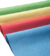 Mikrofasertuch Micro 3000, 37 x 40 cm, Farben: gelb, blau, grün, rot | voluminöses, wasserstrahlverfestigtes Mikrofaservlies, waschbar 95 °C