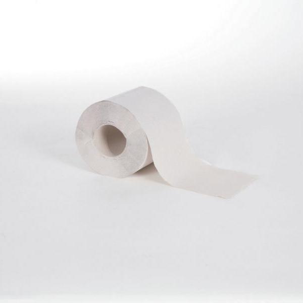 Toilettenpapier 1-lagig, 400 Blatt/Rolle, natur hell | 64 Rollen/Sack | Einzelrollen - nicht unterverpackt