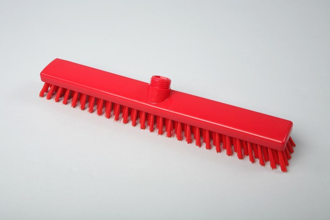 Hygiene - Schrubber, Außengewinde mit Innensechskant   40 cm rot   Temperaturbeständigkeit: - 20°C bis +134°C