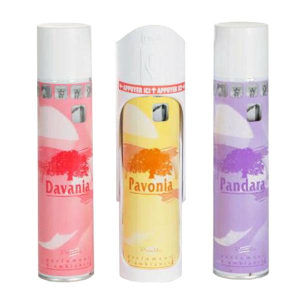 Raumduft-Spender Diffuseur Push Parfum | 300 ml | für Raumduft-Spraydosen
