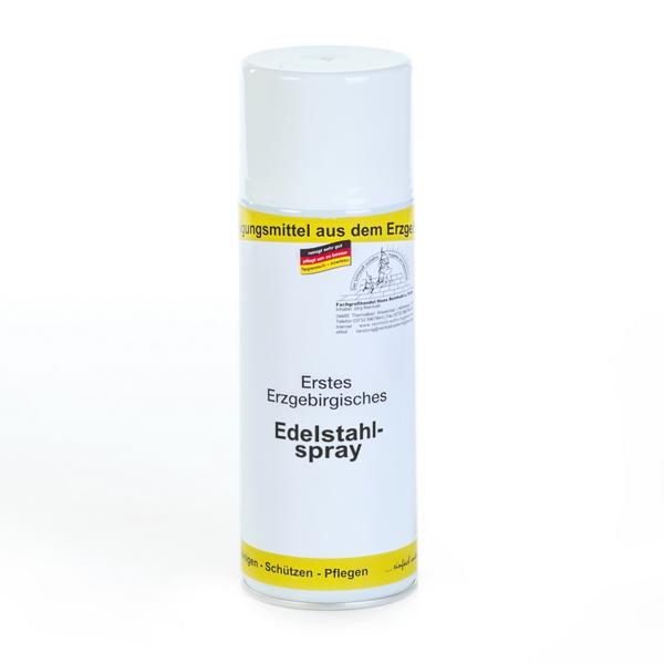 Erstes Erzgebirgisches Edelstahlspray | 400 ml  | Farbspray aus rostfreiem Stahl zur Edelstahlbeschichtung