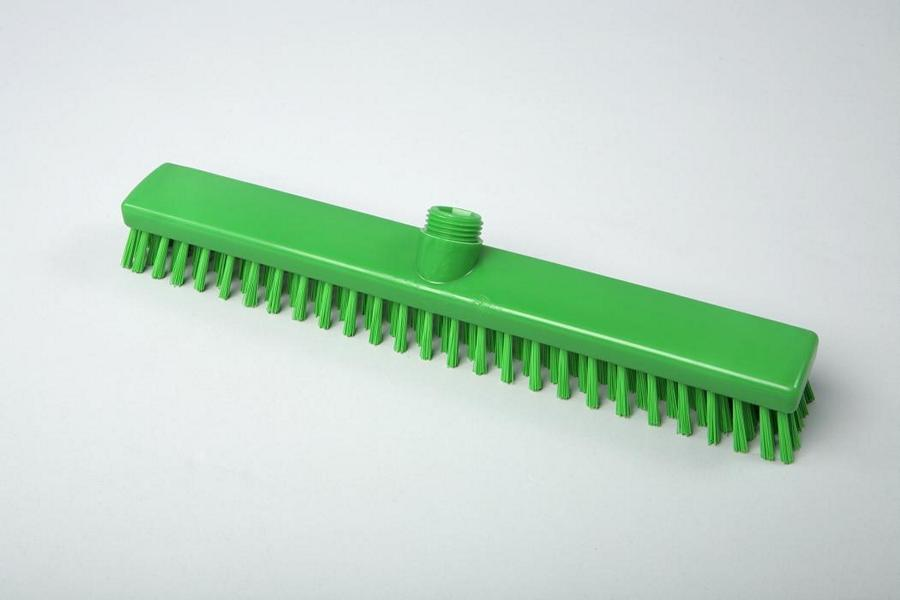 Hygiene - Schrubber, Außengewinde mit Innensechskant   40 cm grün   Temperaturbeständigkeit: - 20°C bis +134°C