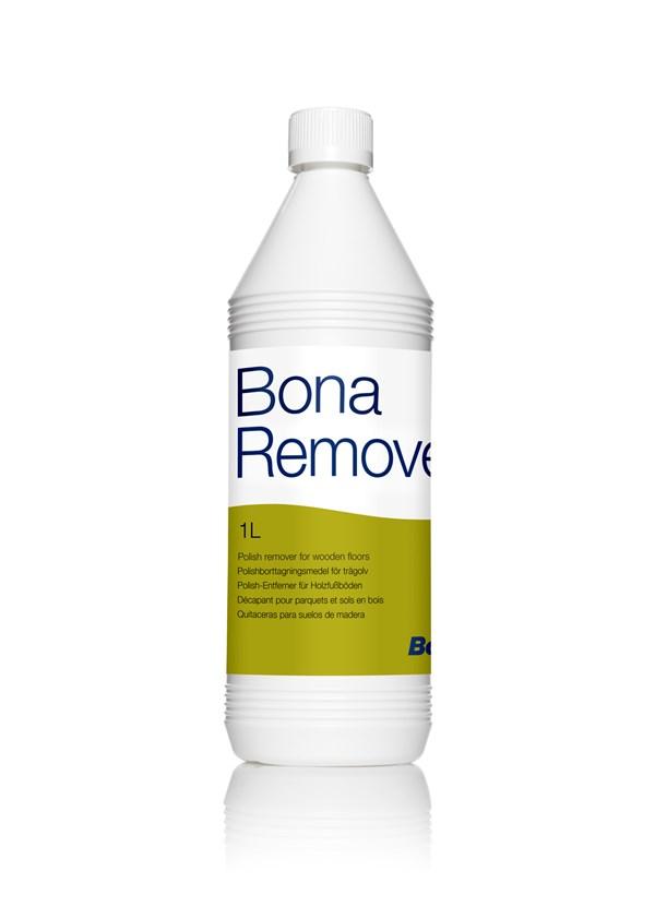 Bona® Remover |  1 Liter  | Grundreiniger entfernt alte Pflegemittelschichten auf versiegelten Parkett- und Holzfußböden