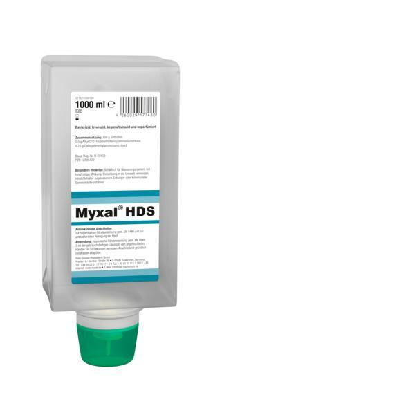 MYXAL® HDS Antimikrobielle Waschlotion für Haut und Hände | 1000 ml Varioflasche  | für besonders empfindliche und strapazierte Haut