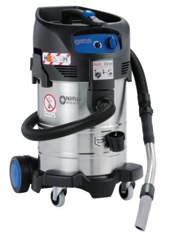 Nilfisk® Staubsauger Alto ATTIX 40-OM PC Typ 22 | Mobiler Sicherheitssauger für Klasse M und Zone 22 zugelassen