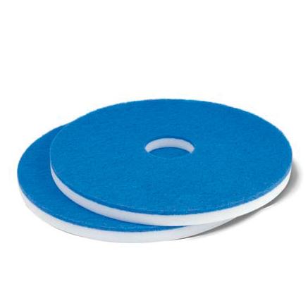 Maschinenpad/Magic-Superpad 406 mm - 16 Zoll Melamine | weiß/blau